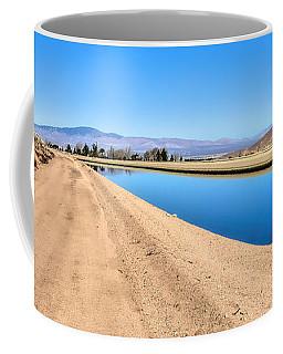 Aqueduct And The Tehachapi Mountains Coffee Mug