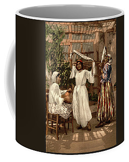 Arab Dancing Girls - Remastered Coffee Mug