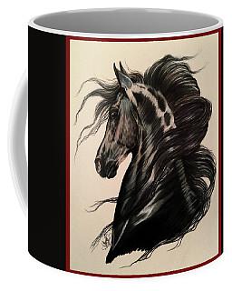 Arabian Grey On A Stormy Night Coffee Mug