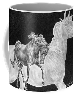Arabian Horse Spirit Print Coffee Mug