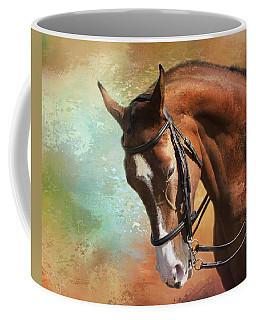 Coffee Mug featuring the photograph Arabian Horse by Theresa Tahara