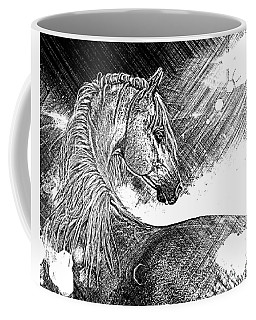 Arabian Sunrise Sketch Coffee Mug