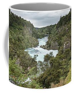 Coffee Mug featuring the photograph Aratiatia Rapids by Gary Eason