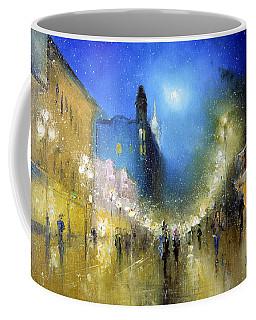 Arbat Night Lights Coffee Mug