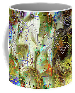 Arbitrary Color Opticality Coffee Mug by Don Gradner