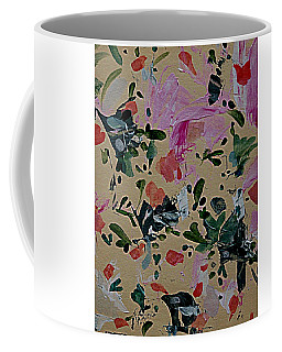 Coffee Mug featuring the painting Arboretum Fantasy by Nancy Kane Chapman