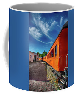 Coffee Mug featuring the photograph Arcade And Attica 1310 by Guy Whiteley