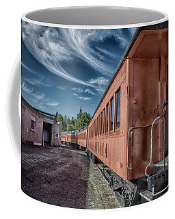 Coffee Mug featuring the photograph Arcade And Attica 1313 by Guy Whiteley
