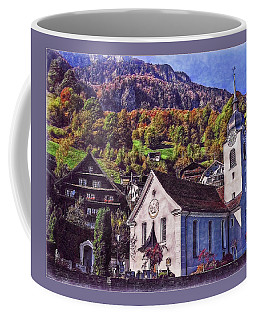 Coffee Mug featuring the photograph Arcadian Hamlet by Hanny Heim