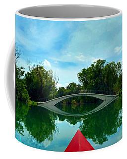 Arch Bridge Over Canal Coffee Mug