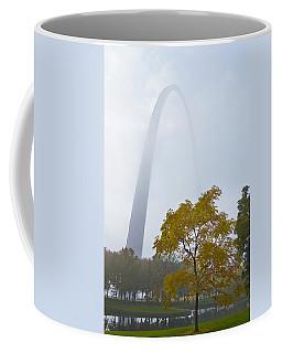 Arch In The Fog Coffee Mug