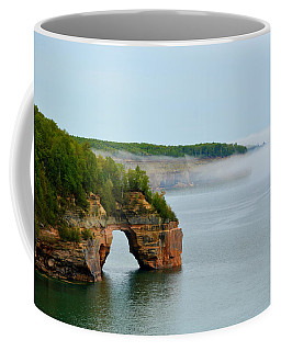 Coffee Mug featuring the photograph Arch Over Superior by SimplyCMB