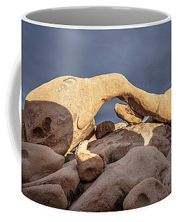 Arch Rock Panorama In Joshua Tree Coffee Mug