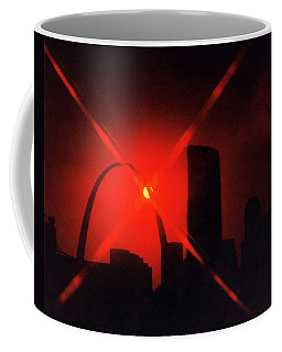 Coffee Mug featuring the photograph Arch Study 1 by Christopher McKenzie