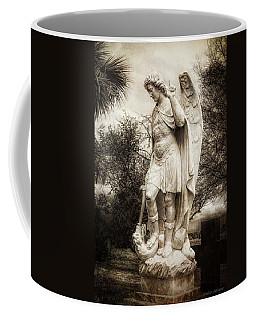 Archangel Michael Slaying Dragon Coffee Mug