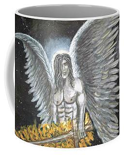 Archangel Michael Upclose Coffee Mug