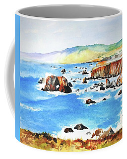 Arched Rock Sonoma Coast California Coffee Mug