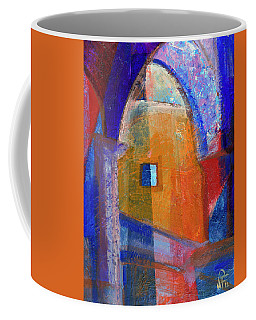 Arches And Window Coffee Mug by Walter Fahmy