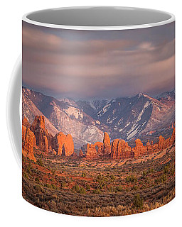 Arches National Park Pano Coffee Mug
