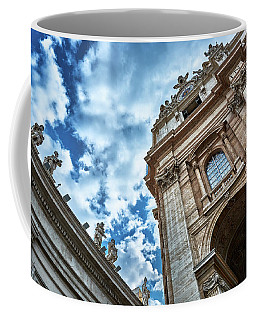 Architectural Majesty On Top Of The Sky Coffee Mug