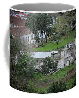 Architectural Ruins In Angra Do Heroismo Coffee Mug
