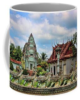 Architecture Cambodia  Coffee Mug by Chuck Kuhn