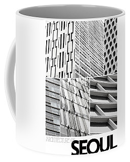 Coffee Mug featuring the photograph Architecture Of Seoul by Nancy Ingersoll