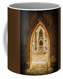 Coffee Mug featuring the photograph Rhodes, Greece - Archway by Mark Forte