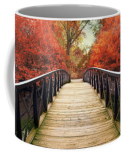 Coffee Mug featuring the photograph Ardent Autumn by Jessica Jenney