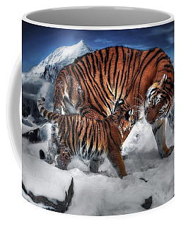 Coffee Mug featuring the digital art Are We There Yet by Pennie McCracken