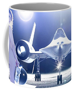 Area 71 My Blackbird Is Better Than Your Thunderbird Coffee Mug