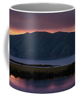 Aregunyats Range And Sevan Lake At Sunset, Armenia Coffee Mug