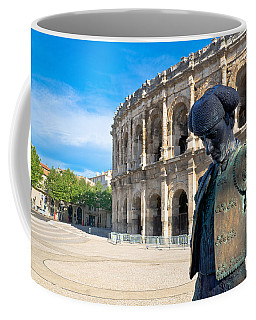 Arenes De Nimes Bullfighter Coffee Mug