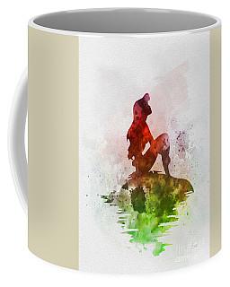 Ariel On The Rock Coffee Mug