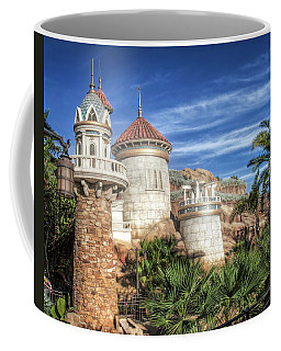 Coffee Mug featuring the photograph Ariel's Undersea Adventure by Mark Andrew Thomas