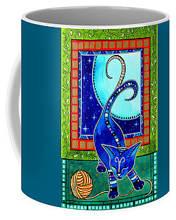 Aries Cat Zodiac Coffee Mug