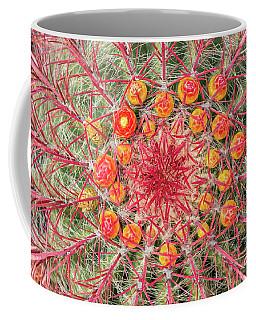 Arizona Barrel Cactus Coffee Mug by Delphimages Photo Creations