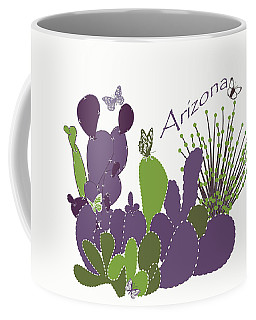 Arizona Cacti Coffee Mug