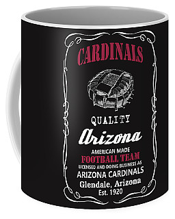Arizona Cardinals Whiskey Coffee Mug