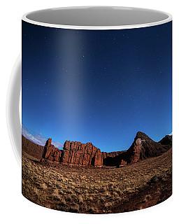 Arizona Landscape At Night Coffee Mug