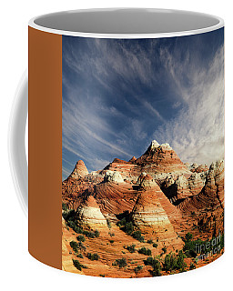 Coffee Mug featuring the photograph Arizona North Coyote Buttes by Bob Christopher