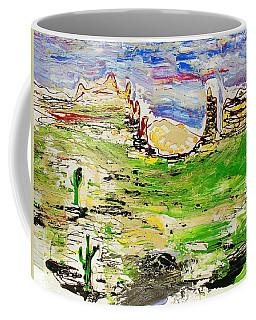 Coffee Mug featuring the painting Arizona Skies by J R Seymour