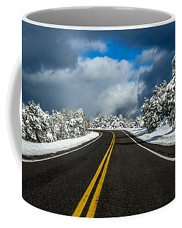 Arizona Snow Road Coffee Mug