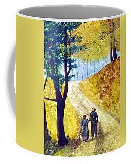 Arm In Arm Coffee Mug by Brian Wallace