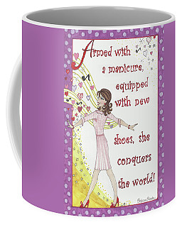 Armed With A Manicure Coffee Mug