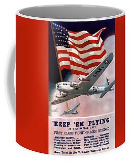 Army Air Corps Recruiting Poster Coffee Mug