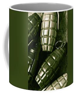 Army Green Grenades Coffee Mug