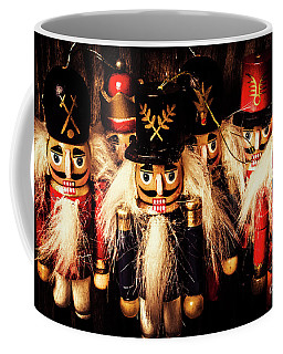 Coffee Mug featuring the photograph Army Of Wooden Soldiers by Jorgo Photography - Wall Art Gallery