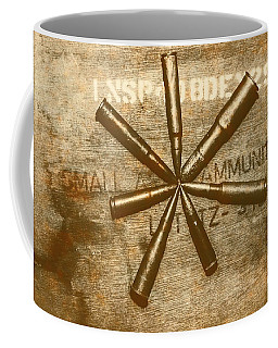 Army Star Bullets Coffee Mug