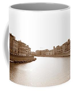 Arno River In Pisa Coffee Mug